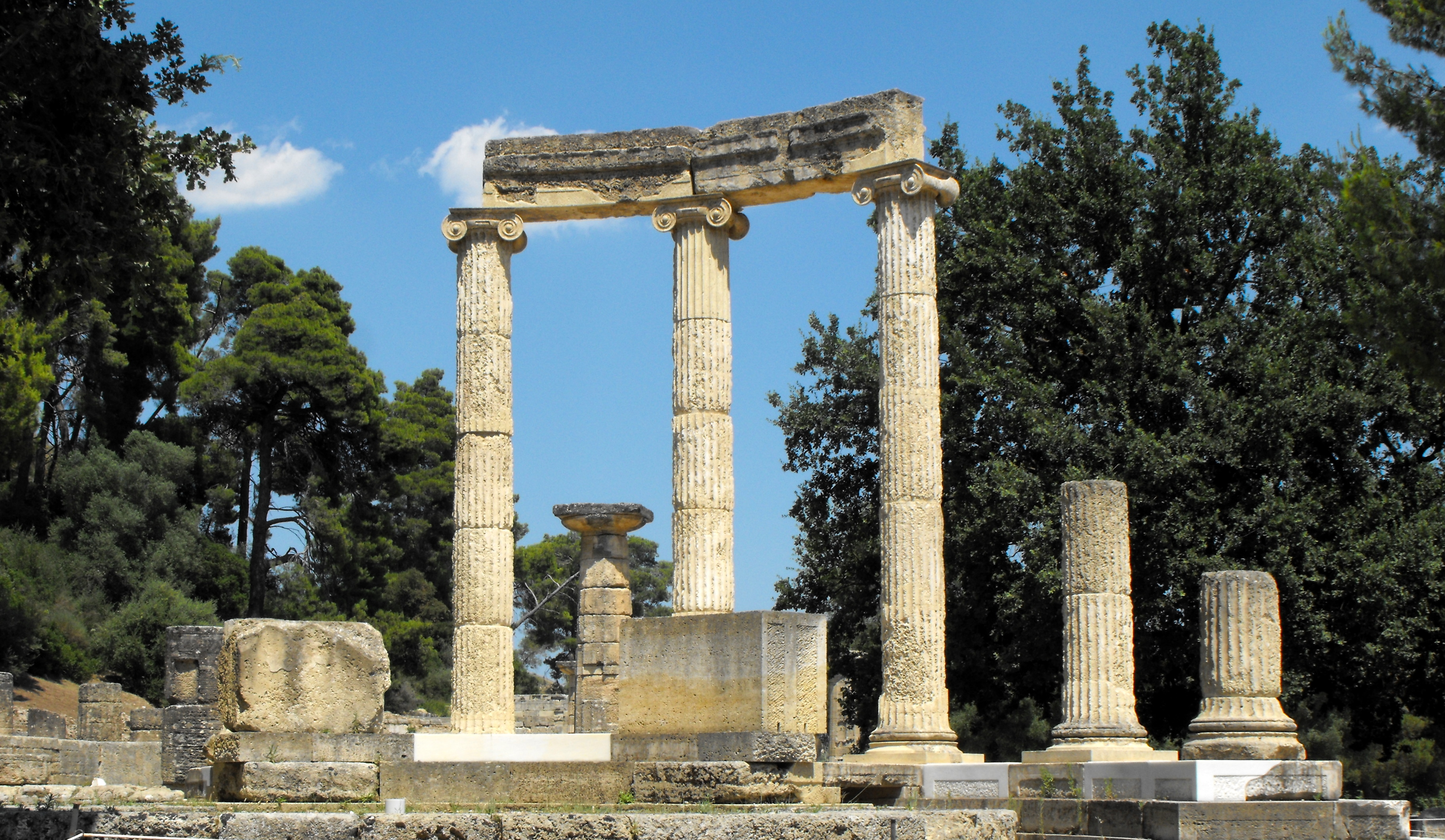 Peloponnesian adventure part 2 ancient olympia for The olympia